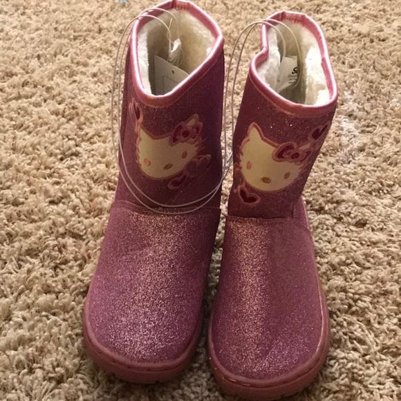 a1a57c7a3b6b Sanrio Shoes | Glitter Hello Kitty Boots | Poshmark